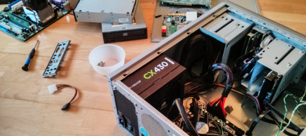 Zerlegter Computer