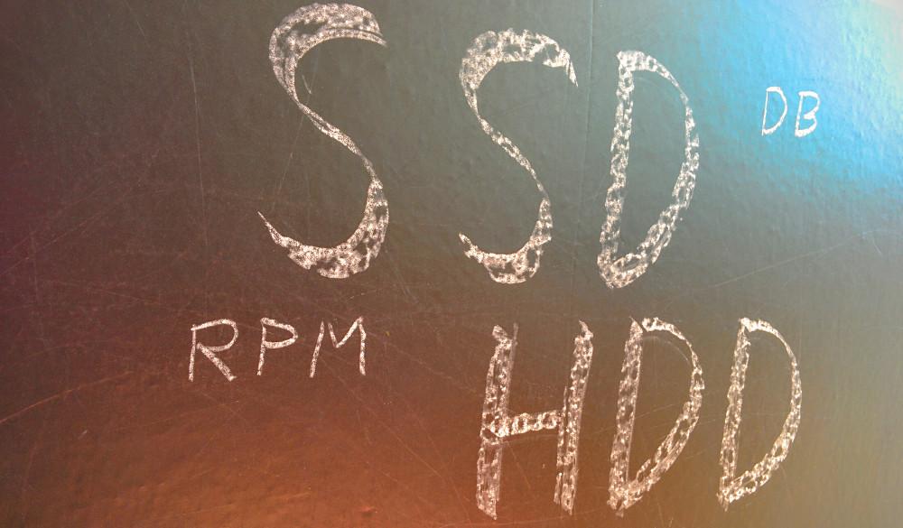 Schlagworte SSD HDD