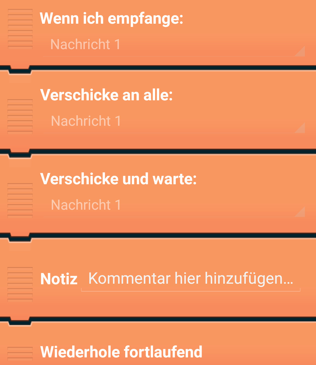 Pocket Code Funktionen