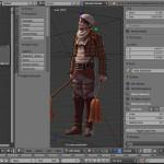 Modellierung mit Blender