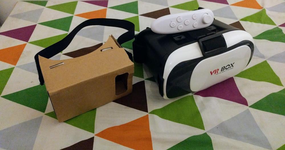 cardboard vr-box